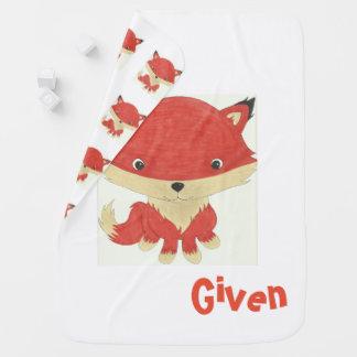 Zero Fox Given Baby Blanket