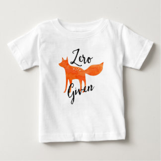 Zero Fox Given Baby T-Shirt