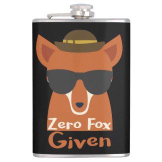 Zero Fox Given Flasks