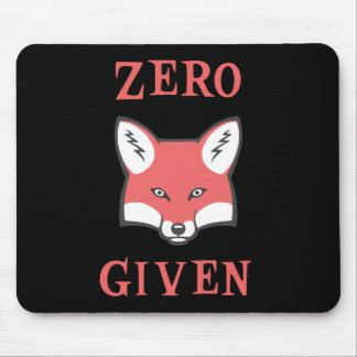 Zero (Fox) Given Mouse Pad