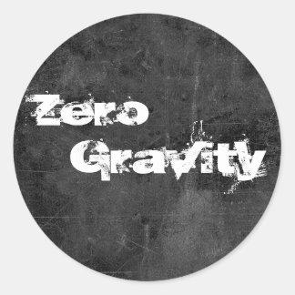 Zero, Gravity 2 Classic Round Sticker