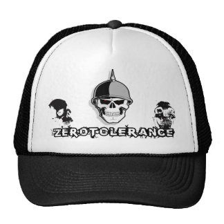 Zero Tolerance Skull Soldier Trucker Hat