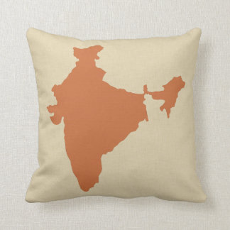 Zest Spice Moods India Throw Pillow