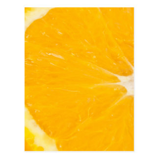 Zesty orange. postcard