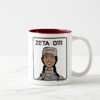 ZETA 0111 - Brittany Whitecloud Two-Tone Coffee Mug