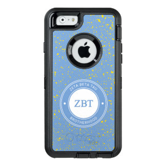 Zeta Beta Tau | Badge OtterBox Defender iPhone Case