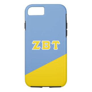 Zeta Beta Tau   Greek Letters iPhone 8/7 Case