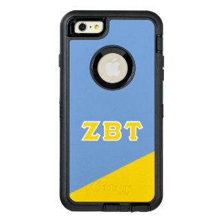 Zeta Beta Tau   Greek Letters OtterBox Defender iPhone Case