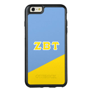 Zeta Beta Tau | Greek Letters OtterBox iPhone 6/6s Plus Case