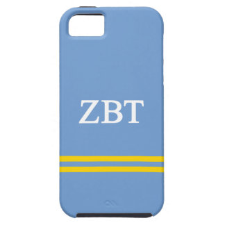 Zeta Beta Tau | Sport Stripe iPhone 5 Cases