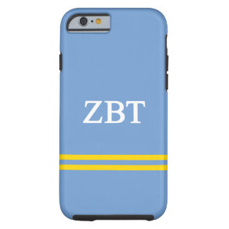 Zeta Beta Tau | Sport Stripe Tough iPhone 6 Case