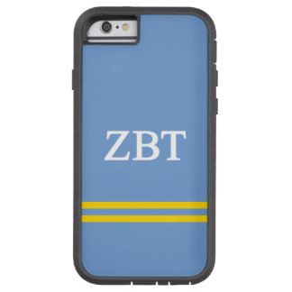 Zeta Beta Tau   Sport Stripe Tough Xtreme iPhone 6 Case