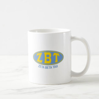 Zeta Beta Tau | Vintage Coffee Mug