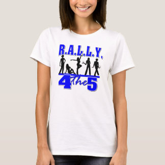 Zeta Phi Beta - Rally4the5 T-Shirt