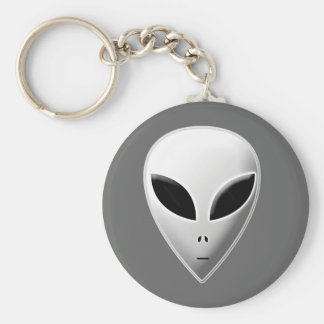 Zeta Reticulan Roswell Grey Alien Keychain