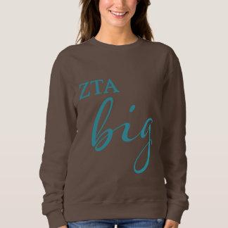 Zeta Tau Alpha Big Script Sweatshirt