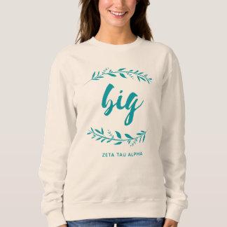 Zeta Tau Alpha Big Wreath Sweatshirt