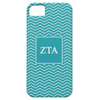Zeta Tau Alpha   Chevron Pattern iPhone 5 Cases