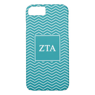 Zeta Tau Alpha   Chevron Pattern iPhone 7 Case