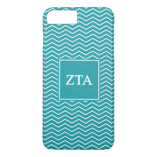 Zeta Tau Alpha | Chevron Pattern iPhone 7 Plus Case
