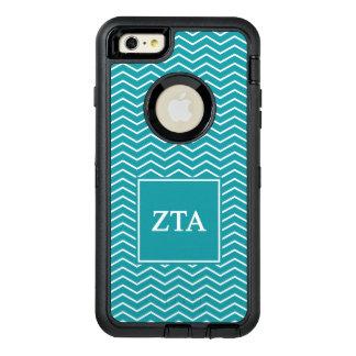 Zeta Tau Alpha | Chevron Pattern OtterBox Defender iPhone Case
