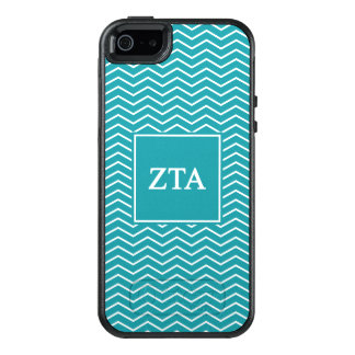 Zeta Tau Alpha | Chevron Pattern OtterBox iPhone 5/5s/SE Case