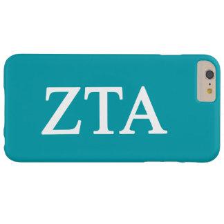 Zeta Tau Alpha Lil Big Logo Barely There iPhone 6 Plus Case