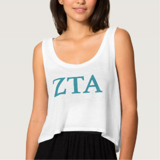 Zeta Tau Alpha Lil Big Logo Tank Top