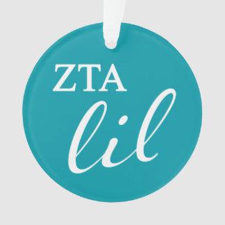 Zeta Tau Alpha Lil Script Ornament