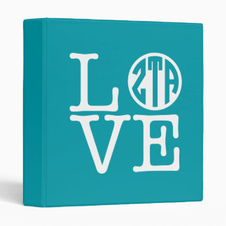 Zeta Tau Alpha Love Binder