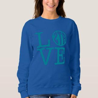 Zeta Tau Alpha Love Sweatshirt