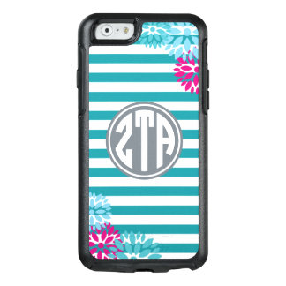 Zeta Tau Alpha | Monogram Stripe Pattern OtterBox iPhone 6/6s Case