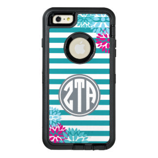 Zeta Tau Alpha | Monogram Stripe Pattern OtterBox iPhone 6/6s Plus Case