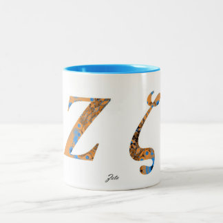 ZETA Two-Tone COFFEE MUG