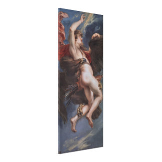 Zeus and Ganymede Canvas Print