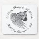 Zeus angel mousepad horizontal design