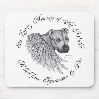 Zeus angel mousepad horizontal design
