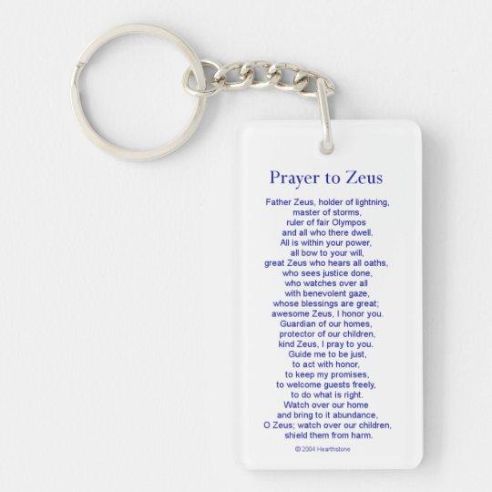 Zeus Keychain