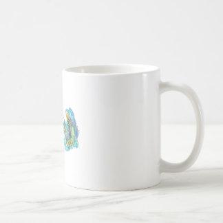Zeus Thunderbolt Vs Poseidon Trident Tattoo Coffee Mug