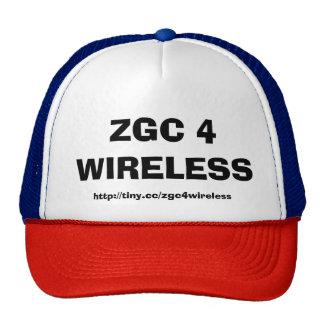 ZGC 4 WIRELESS TRUCKER HAT