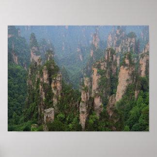 Zhangjiajie National Forest Park Poster Avatar