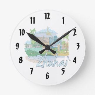 zhuhai city vacation graphic blue.png clock