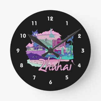 zhuhai city vacation graphic pink.png clocks