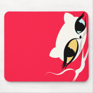 Zhuzhy Cats - Sushi : Cat Lovers Gift Mouse Pad