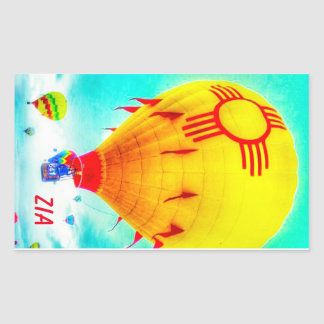 Zia balloon sticker