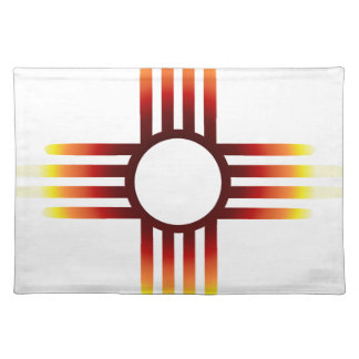 Zia Sun Fire Placemat