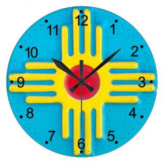 Zia Sun Large Clock