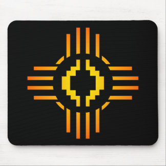 Zia Sun Sign Mouse Pad