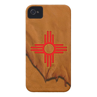 Zia Sun Symbol iPhone 4 Case-Mate Case
