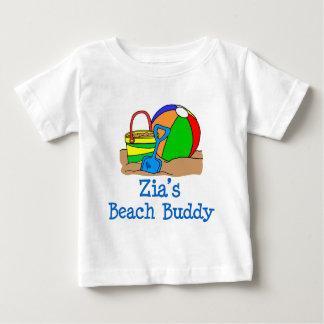 Zia's Beach Buddy Cute Design Baby T-Shirt